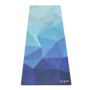 Yoga Design Lab 3.5mm Studio Combo Yoga Mat - Geo Blue