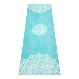 Yoga Design Lab 3.5mm Studio Combo Yoga Mat - Mandala Turquoise